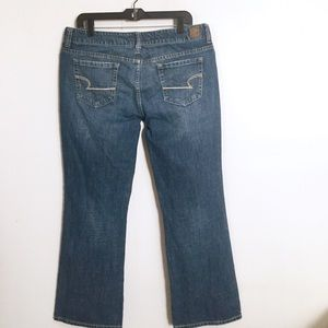 American Eagle AE Favorite Boyfriend Boot Jeans 14